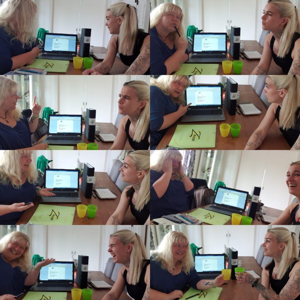 Zumba, planering, zumbainstruktör, Maria Kauppinen, Olivia Morhed